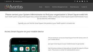 Smart Square Login - Avantas