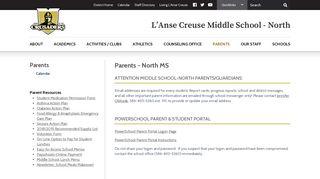 Parents - L'Anse Creuse Public Schools