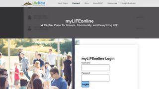 LBF Church | myLIFEonline