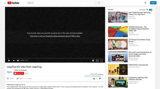 LeapPad XDi Ultra from LeapFrog - YouTube