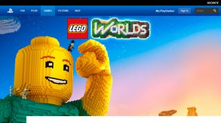 LEGO® Worlds Game | PS4 - PlayStation