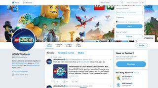 LEGO Worlds (@LEGOWorldsGame) | Twitter