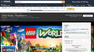 Amazon.com: LEGO Worlds - PlayStation 4: Whv Games: Video Games