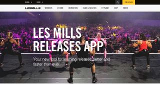 UK Digital Resources – Les Mills