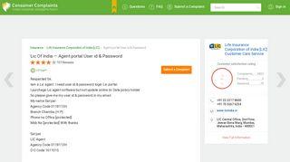 Lic Of India — Agent portal User id & Password