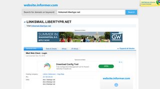 linksmail.libertypr.net at WI. IMail Web Client - Login - Website Informer