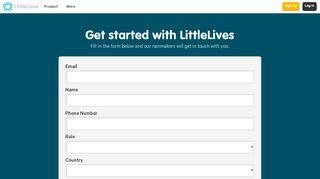 Get Started With LittleLives - LittleLives Inc