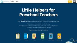 The LittleLives System - LittleLives Inc