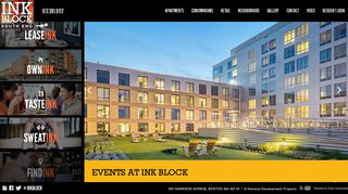 Ink Block Apartments   Live Ink Block Style in Boston's Hottest ...