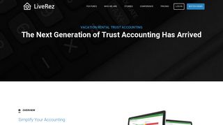 Vacation Rental Trust Accounting   LiveRez Vacation Rental Software