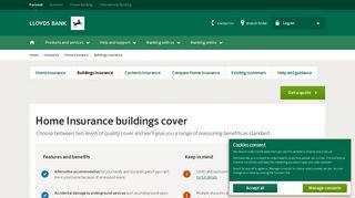 Buildings Insurance - Home Insurance - Lloyds Bank