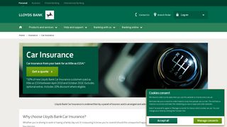 Lloyds Bank - UK Insurance - Car Insurance Quotes Online