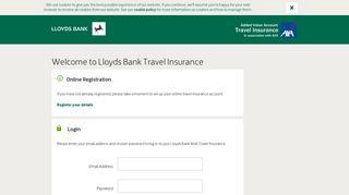 Lloyds Bank travel insurance