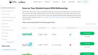 Refinancing Student Loans: Best Refinancing Companies | Student ...