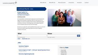 Lockheed Martin Jobs