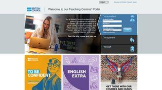 Login portal - Student Portal - British Council