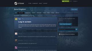 Log in screen :: Aura Kingdom General Discussions - Steam Community