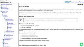 Blocked wechat unlock login allowed self-service Remediate risks