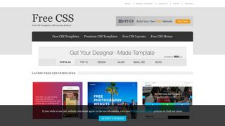 Free CSS | 2837 Free Website Templates, CSS Templates and ...