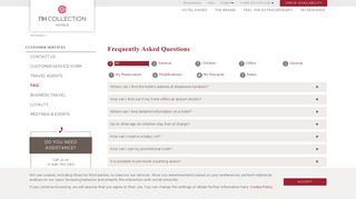 Frequently Asked Questions - FAQ | NH Hotel Group - NH Collection