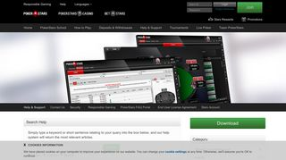 Pokerstars   Login with a PIN or RSA in the mobile app