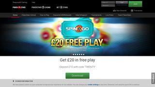 Online Poker - Play Poker Games at PokerStars