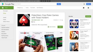 PokerStars: Free Poker Games with Texas Holdem - Apps on Google ...