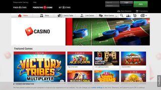 Online Casino - PokerStars Casino UK