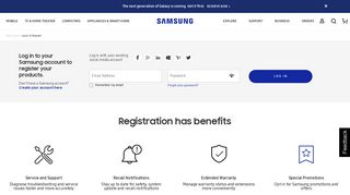 Register Your Samsung Product: Faster Support & Benefits | Samsung ...