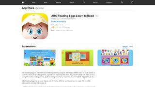 ABC Reading Eggs Learn to Read on the App Store - iTunes - Apple