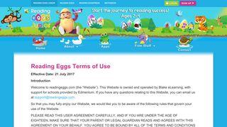Terms - Reading Eggs Junior