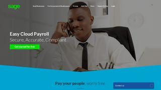 Payroll – Sage