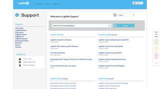 LogMeIn Rescue Support - Downloads