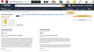 Amazon.com: Customer reviews: Lorex LH108321C8B 8-Camera ...