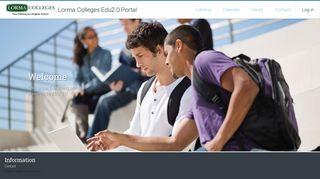 Lorma Colleges Edu2.0 Portal