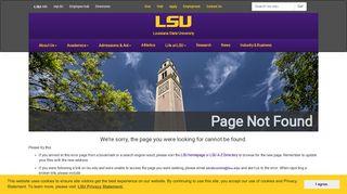 Orientation Registration   Experience LSU - Louisiana State University