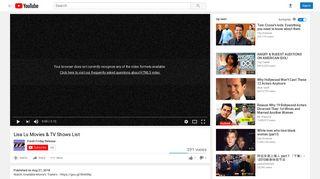 Lisa Lu Movies & TV Shows List - YouTube