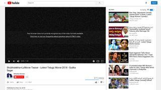 Shubhalekha+LuMovie Teaser - Latest Telugu Movie 2018 ... - YouTube
