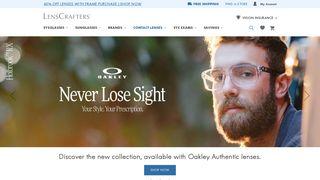 Eyewear: Glasses, Frames, Sunglasses & More at LensCrafters