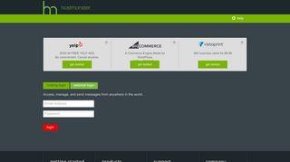 Webmail Login - HostMonster