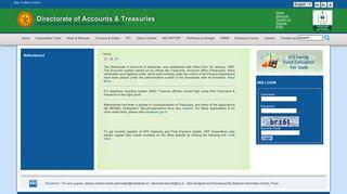 Mahakosh DAT, Department of Accounts and Treasuries, Maharashtra ...