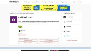 11 Best mail2web.com Alternatives | Reviews | Pros & Cons ...