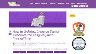 How to Unfollow Inactive Twitter Accounts the Easy Way with ...