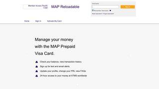 MAP Reloadable - visaprepaidprocessing.com