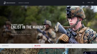 Enlist in the Marines | Enlistment Requirements | Marines