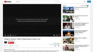 Colleges in Brisbane - Martin College Brisbane Campus Tour ...