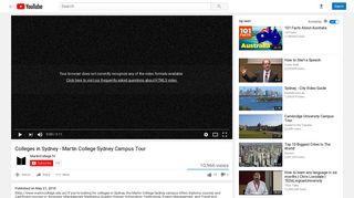 Colleges in Sydney - Martin College Sydney Campus Tour - YouTube