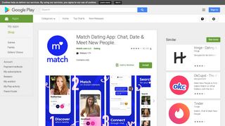 Match Dating App: Chat, Date & Meet New People. - Apps on Google ...