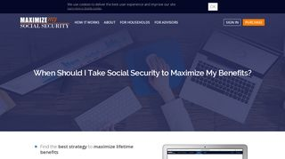 Maximize My Social Security: When Should I Take Social Security to ...