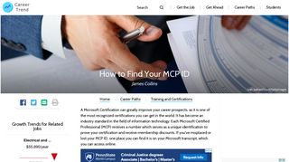 How to Find Your MCP ID   Career Trend